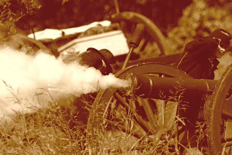 Union Artillery Fire - part I