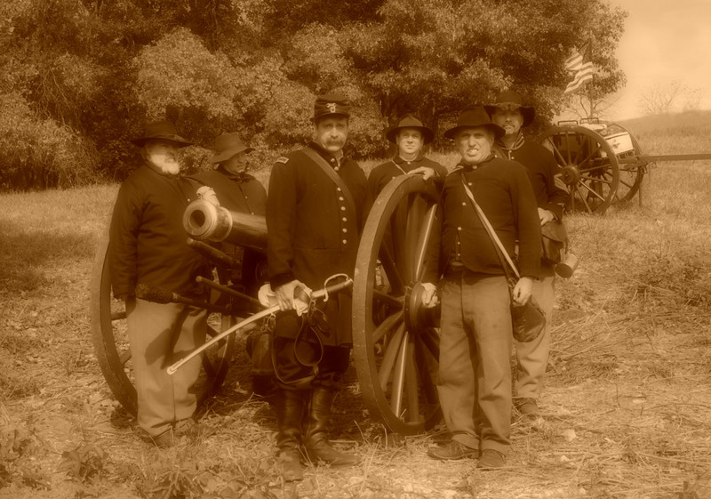 Union Gunnery Crew (soft filter applied)