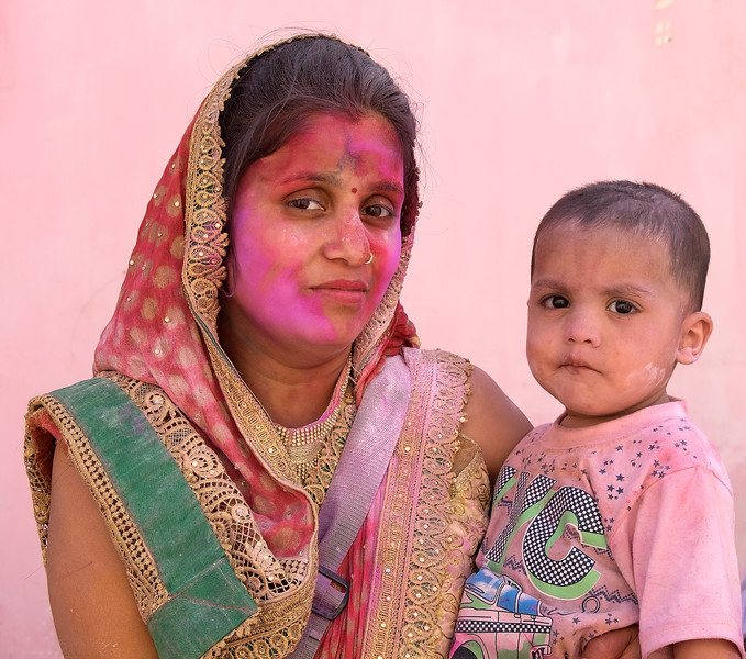 Holi and Hola Mohalla, India