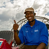 Ryan, airboat driver & guide