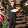 Cruise director Lorraine leads carolers on Christmas Eve