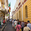 On the back roads of old town Cartagena