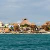 Approaching Costa Maya, Mexico - December 24, 2016