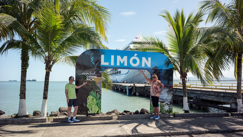 Puerto Limón, Costa Rica - December 29, 2016