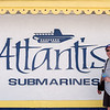 Barry awaiting our voyage on the Atlantis submarine