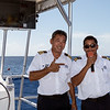 The boat's captain & guide