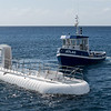 The submarine after surfacing