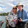 Boni & Barry overlooking Lake Izabal