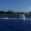 Grand Cayman - Submarine submerging - Video