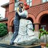 Seaward Johnson sculpture 'Having Fun'