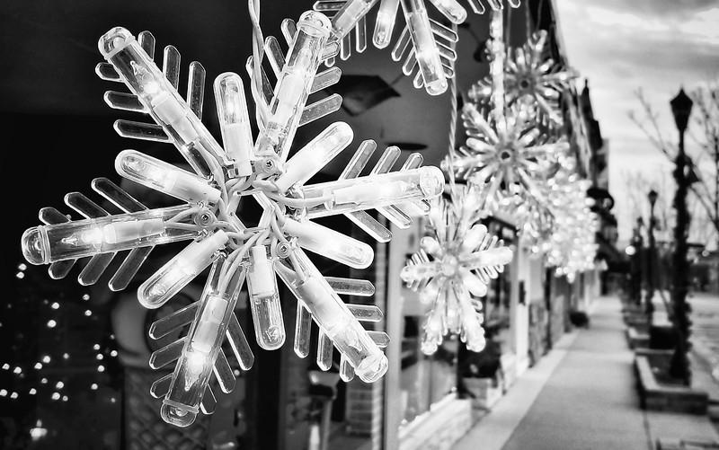 Christmas 2018 Snowflake BW