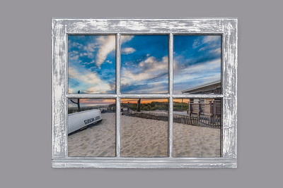 RM 3 Sunset Resin Window
