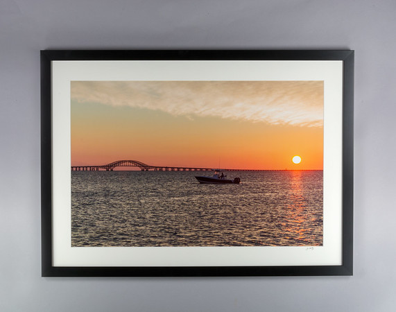 Great South Bay Sunrise Print