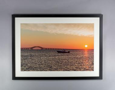 Great South Bay Sunrise Print