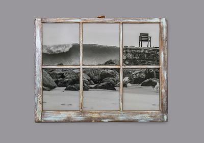 Joaquin Chair Resin Window