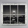 Fire Island Light House Night Window