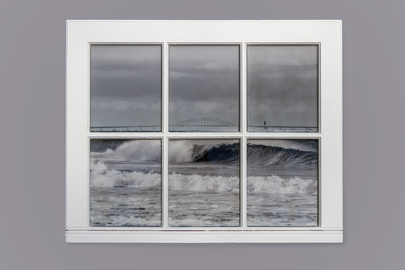 GIlgo Beach  Resin Window