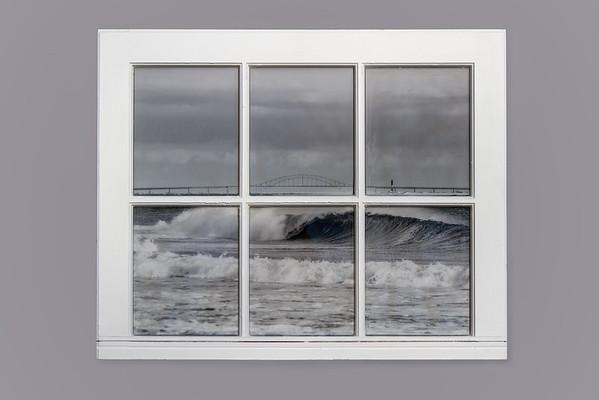 GIlgo Beach  Resin Window