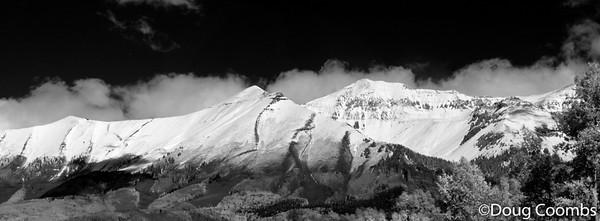 Telluride Panorama B&W