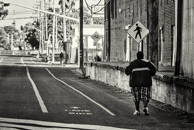 The Street - Homeless man walking - 2.1