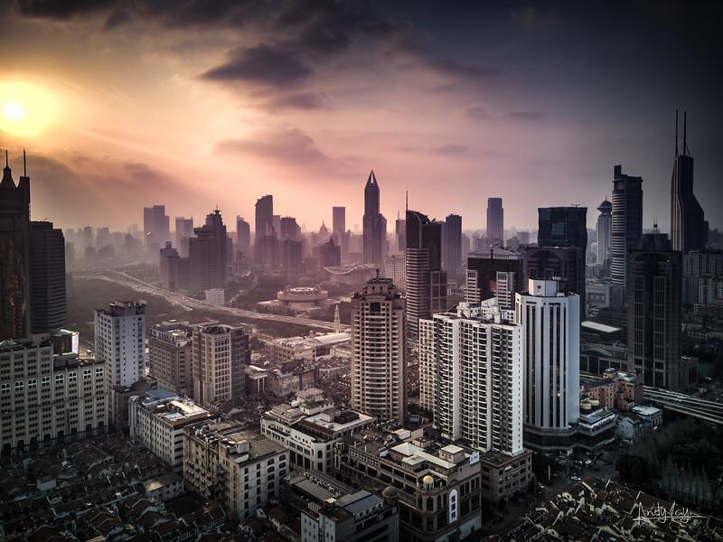 High Over Shanghai