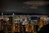 Hong Kong Peak at Night