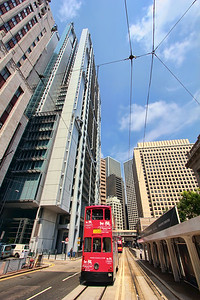 Red Tram & HSBC, Hong Kong