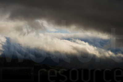 Cloudy Colorado Mountains 008 | Wall Art Resource