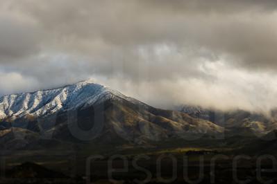 Cloudy Colorado Mountains 005 | Wall Art Resource