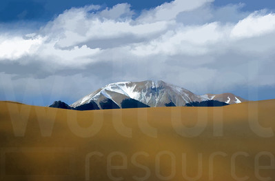 Colorado Sand Dunes 004 | Wall Art Resource