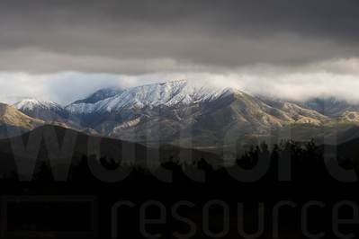 Cloudy Colorado Mountains 003 | Wall Art Resource