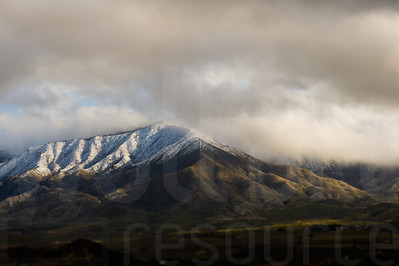 Cloudy Colorado Mountains 007 | Wall Art Resource