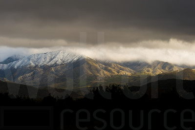Cloudy Colorado Mountains 001 | Wall Art Resource