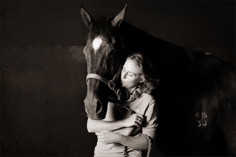 Horse and owner photography in Surrey
