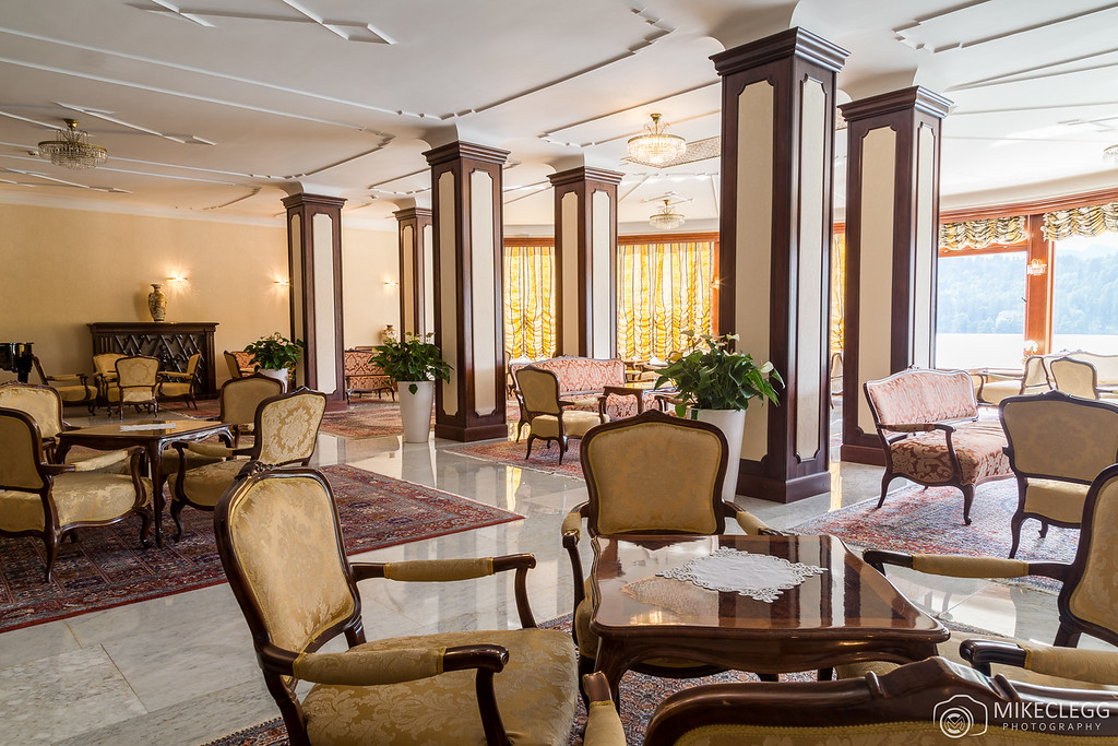 Lounge at Grand Hotel Toplice