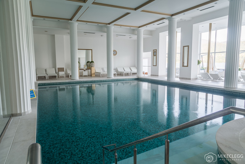 Thermal Swimming Pool at Grand Hotel Toplice
