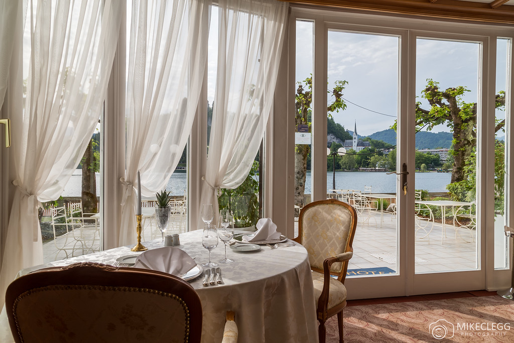 Luxurious dining at Grand Hotel Toplice
