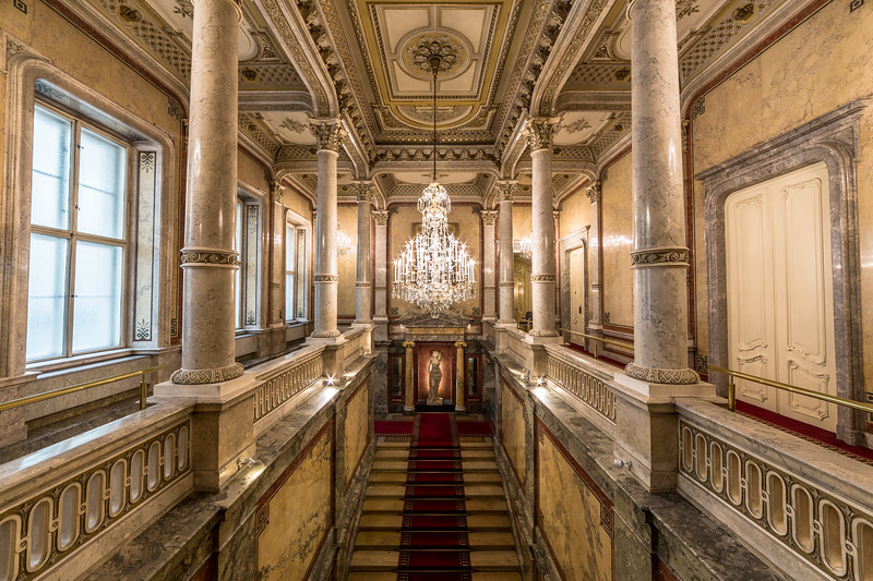 Royal Staircase at Hotel Imperial Vienna