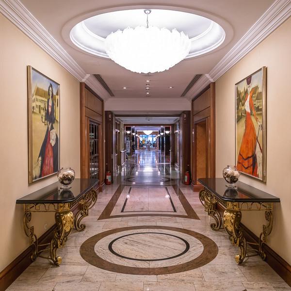 Westin Zagreb Corridors