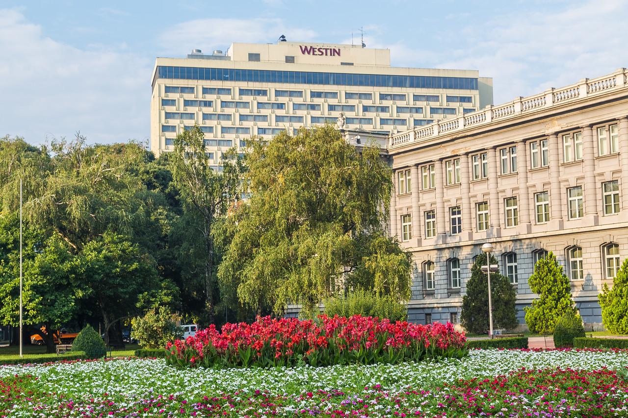 The Westin Hotel in Zagreb