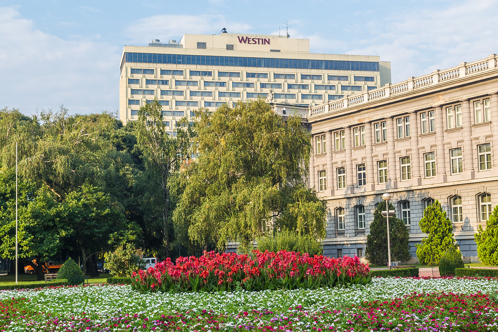 The Westin Hotel in Zagreb
