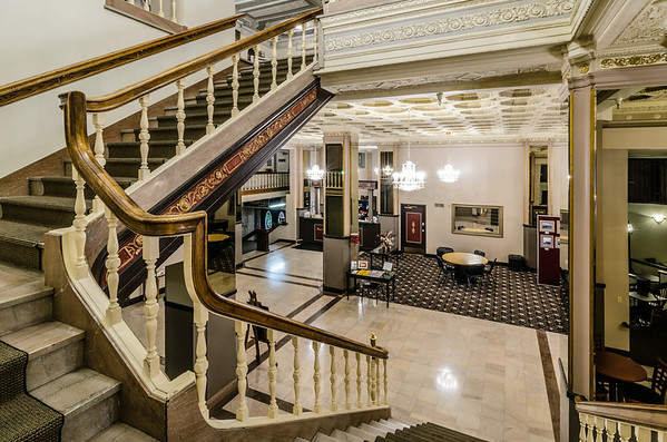 Stair to Lobby