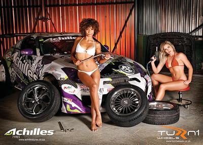 Achiles Tyres / Turn1 Wheels