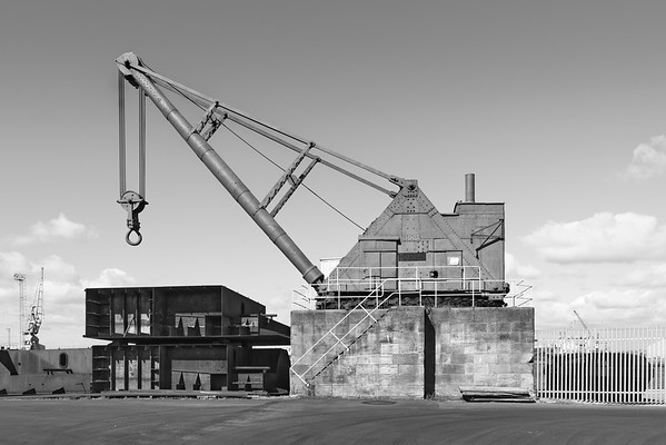 100 Ton Steam Crane - Alexandra Dock