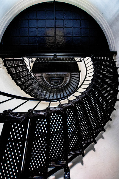 Bodie Island Lighthouse Stairway