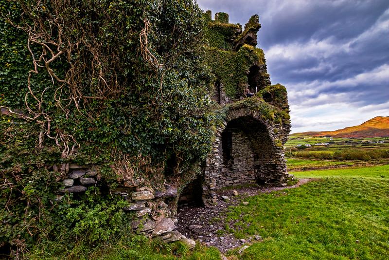 Ballycarbery Castle 3