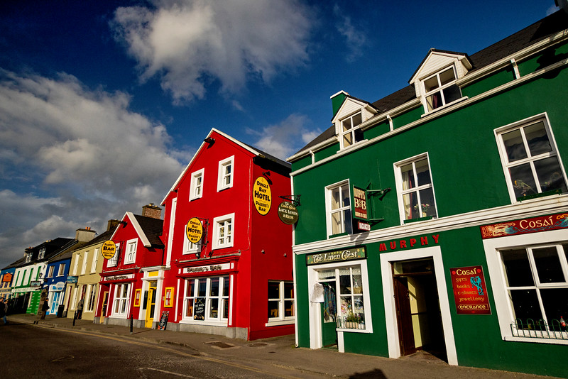 Dingle Town Storefronts 2