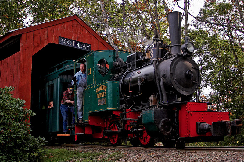 Boothbay Train 1