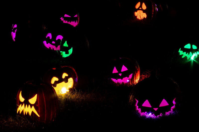 Jack-O-Lantern Colors