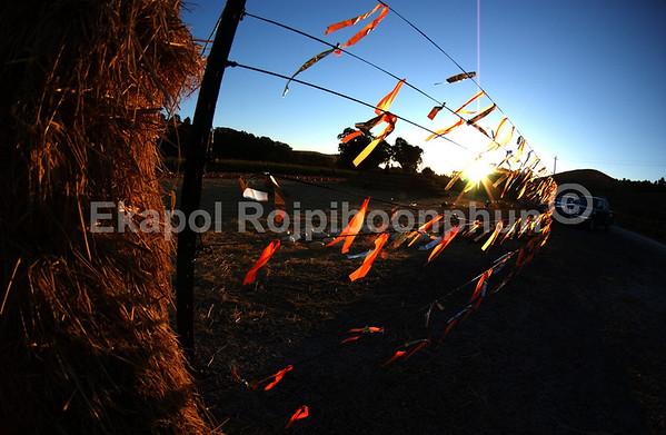 Fun day with a beautiful ending.  copyright © 2007 Ekapol Rojpiboonphun